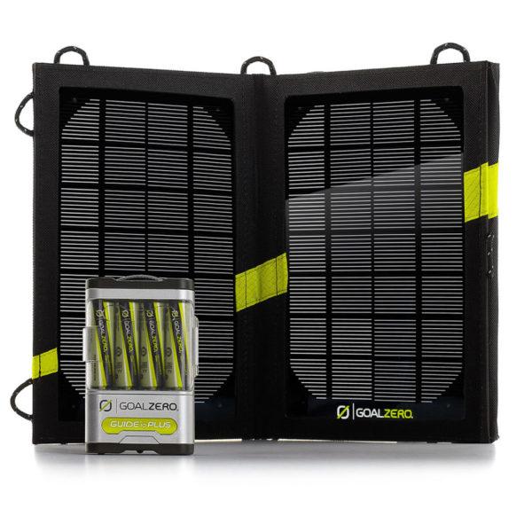 kit de recharge solaire