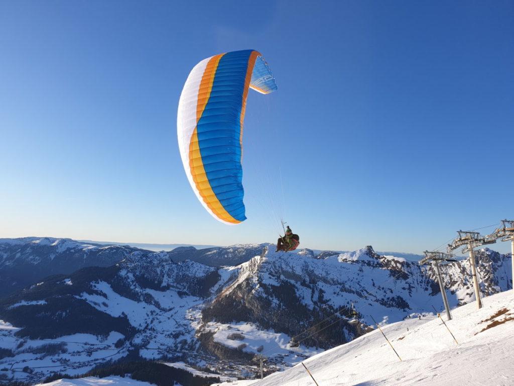 Airdesign Rise 4 en montagne