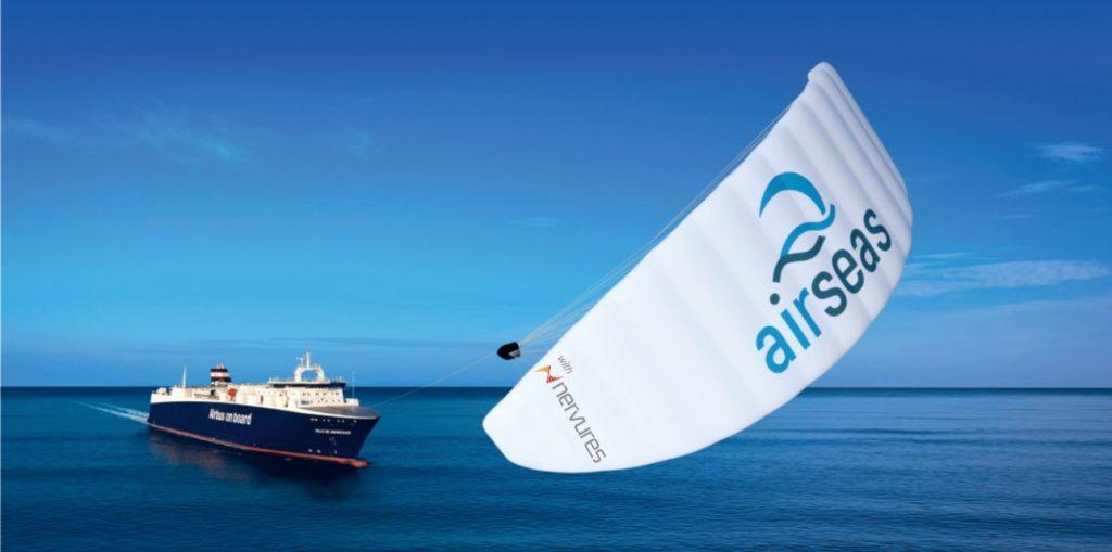 Nervures Production Proto AIRSEAS on AIRBUS