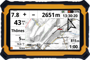 Tablette vario GPS