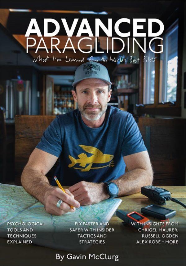 Gavin McClurg auteur du livre Advanced Paragliding