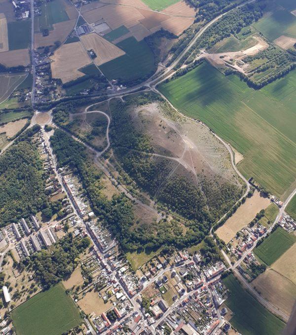 Site parapente terril d'Hornu - Photo Laurent Gérard