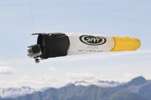 BIRDIE EYE, système de caméra suiveuse basé sur manche à air