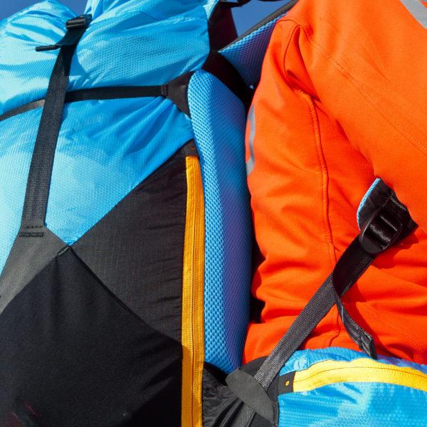 Sellette Crux Sky paragliders aération