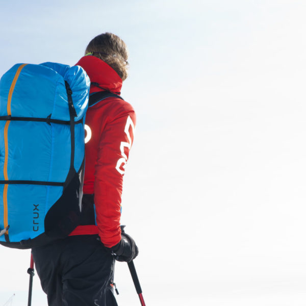 Sellette Crux Sky paragliders portage GP