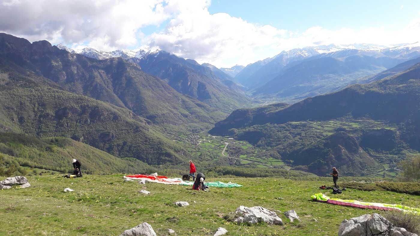Existenciel école parapente en Hautes Pyrénées