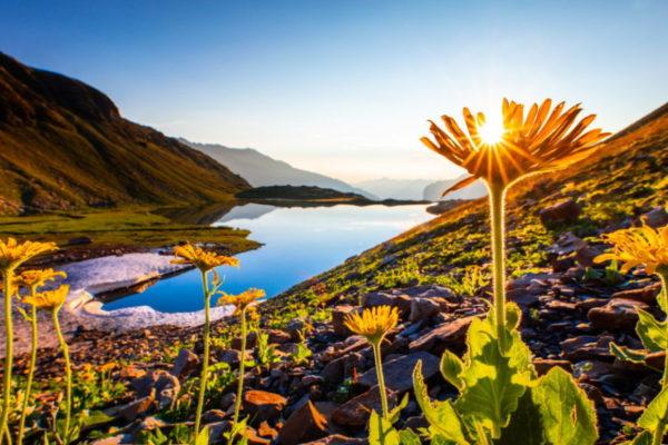 Bivouac au lac Faravel / Photo Thibaut Blais