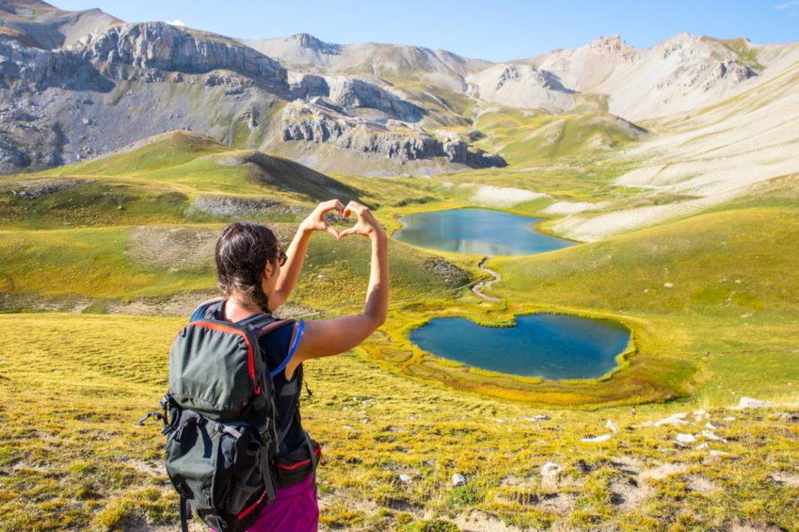 Bivouac aux lacs Escursia ©Thibaut BLAIS