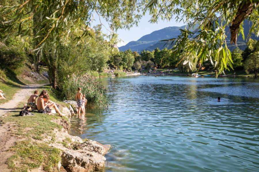 Lac plan d'eau de la Roche ©Thibaut BLAIS