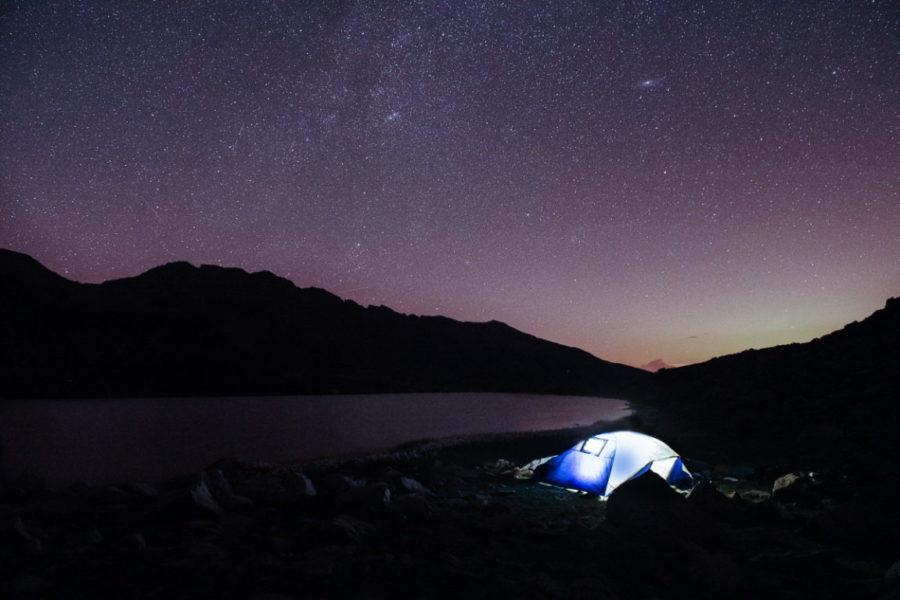Randonnée bivouac ciel étoilé ©Thibaut BLAIS