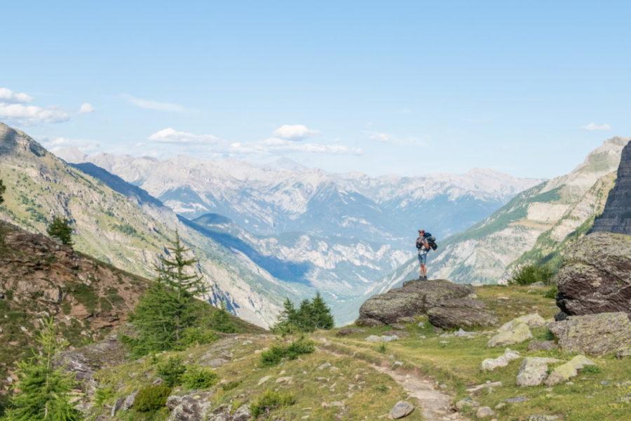 Randonnée bivouac lever de camp ©Thibaut BLAIS