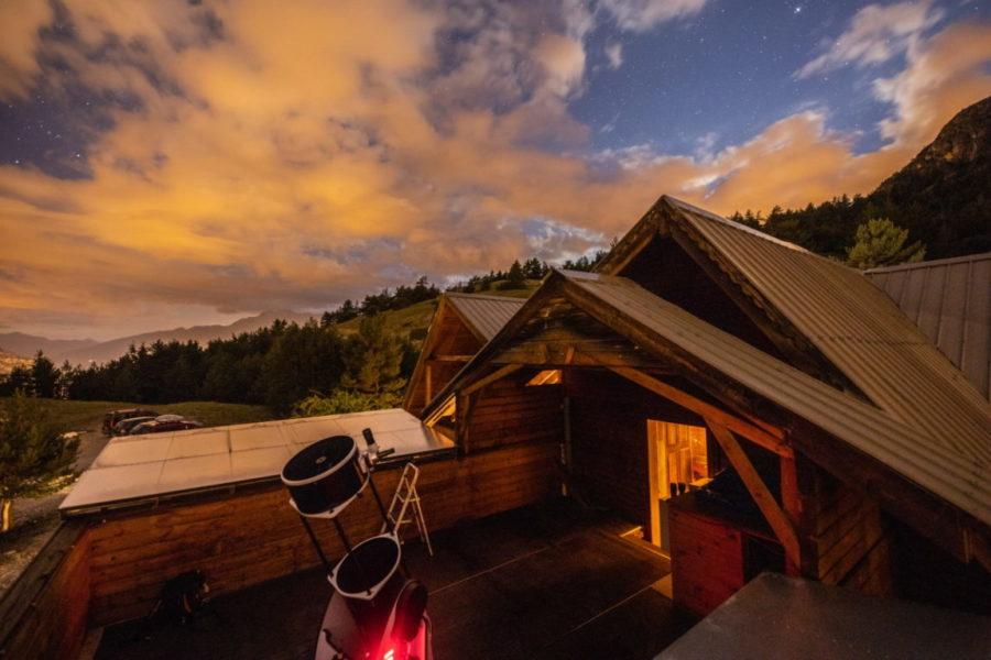 Soirée astronomie au gîte Le Brin de paille ©Thibaut BLAIS