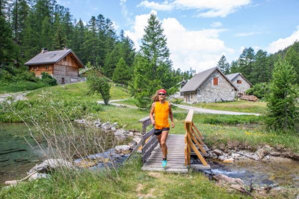 Trail parcours / Photo Thibaut Blais