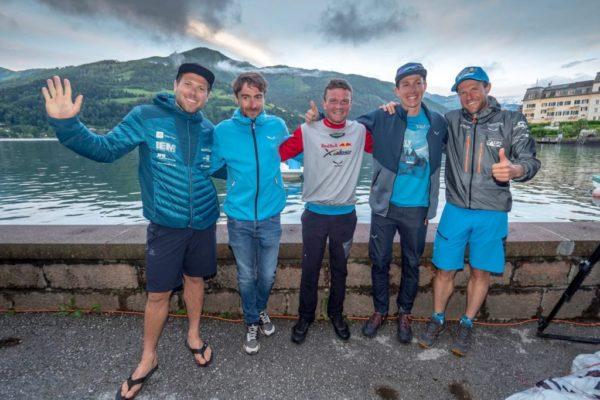 Patrick von Känel, Maxime Pinot, Benoît Outters, Simon Oberrauner and Chrigel Maurer (de gauche à droite). © zooom / Vitek Ludvik