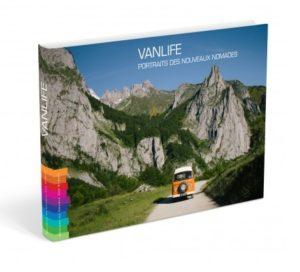 """""""Vanlife"""", portraits de nouveaux nomades couverture du livre"""