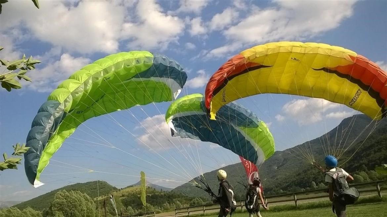 L'école parapente Aérogliss dans les Alpes de Haute Provence