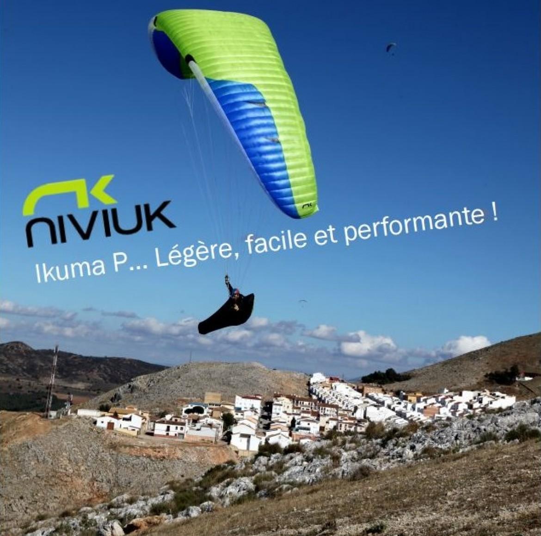 Test de la NIVIUK Ikuma P par Laurent Van Hille (EN B+)
