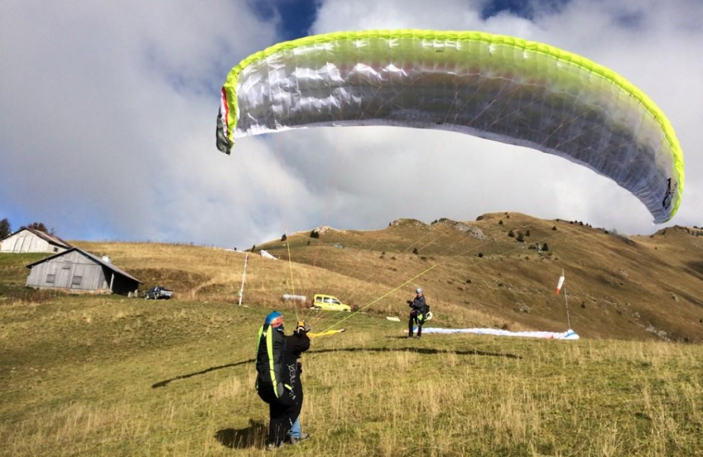 Test de l'aile EN-C AIR DESIGN Volt 2 par Laurent Van Hille