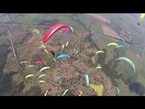 14th FAI Paragliding World Championships vue Pal Takats