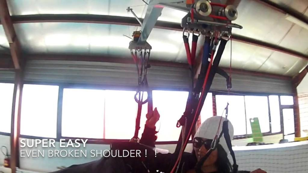 Seiko Fukuoka a testé l'extraction de 2 secours sur la sellette OZONE Exoceat