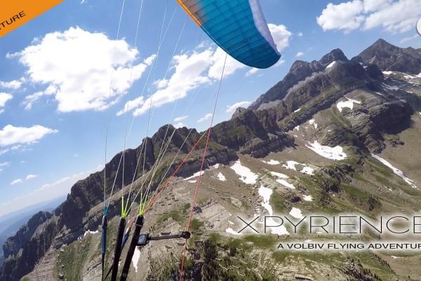 L'aventure XPYRIENCE de Greg, vol bivouac en Pyrénées