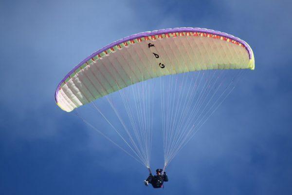 Andrey made himself his autonomous paragliding winch