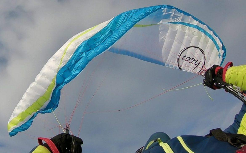 La nouvelle voile AIR DESIGN Eazy 2 testés hors domaine de vol (EN A)