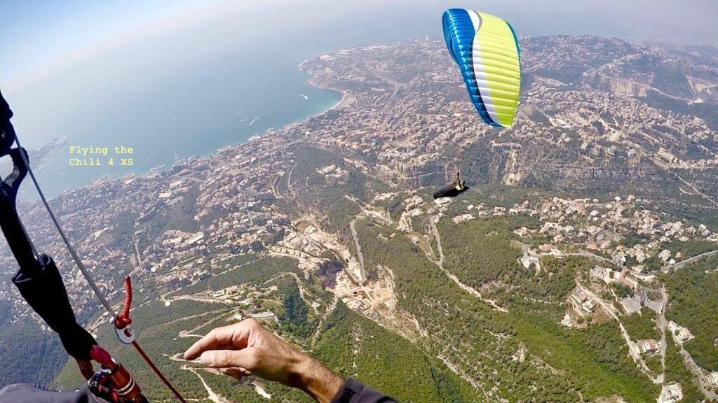 L'aile AIR DESIGN Rise 3 testée par Ziad Bassil (EN B)