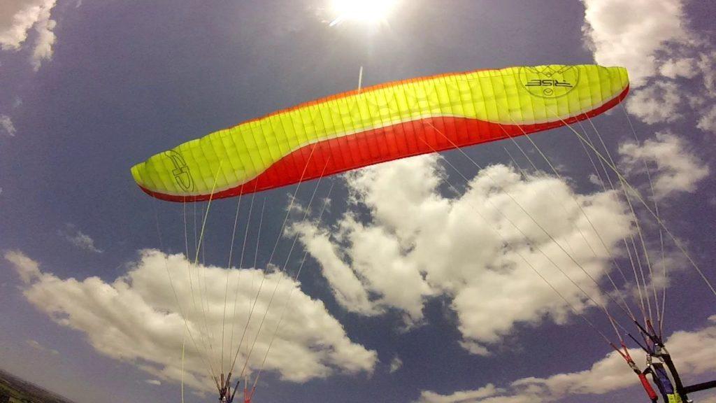 Essais de la voile AIR DESIGN Rise 3 par Pierre (plaine et bord de mer)