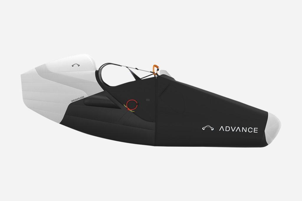 La sellette compétition ADVANCE Weightless présentée à la Coupe Icare