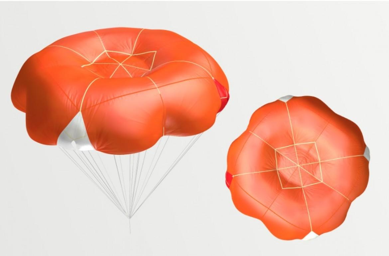 Companion SQR, parachute de secours nouvelle génération