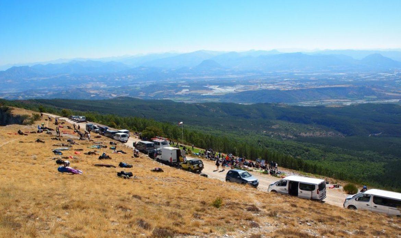 Le site de Laragne, un nouveau lieu pour les compétitions de distance