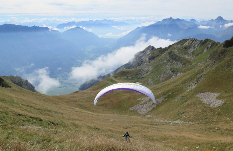 Le vol rando a le vent en poupe auprès des montagnards