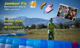 Jambon'fly, marche et vol en mode déguisé (26/09 – Hautes Alpes)