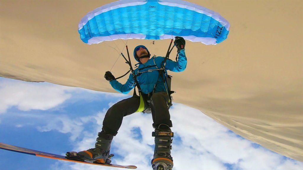 Speedflying et sandboarding au Toro Mata (Pérou)