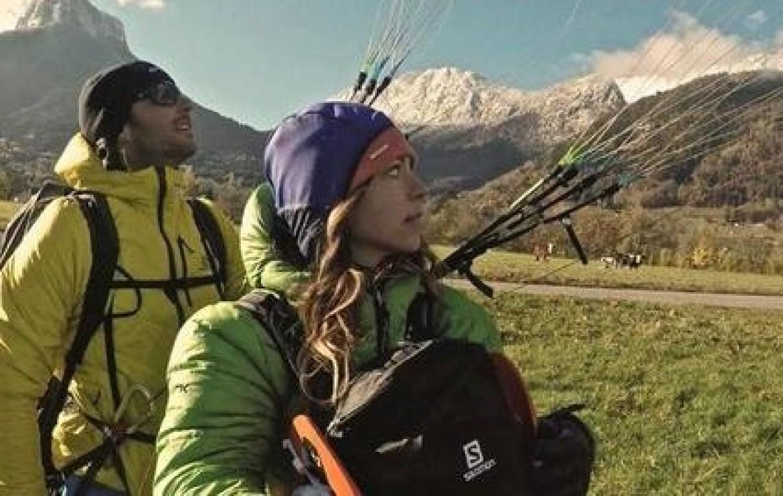 Première traversée de la Nouvelle Zélande en parapente biplace