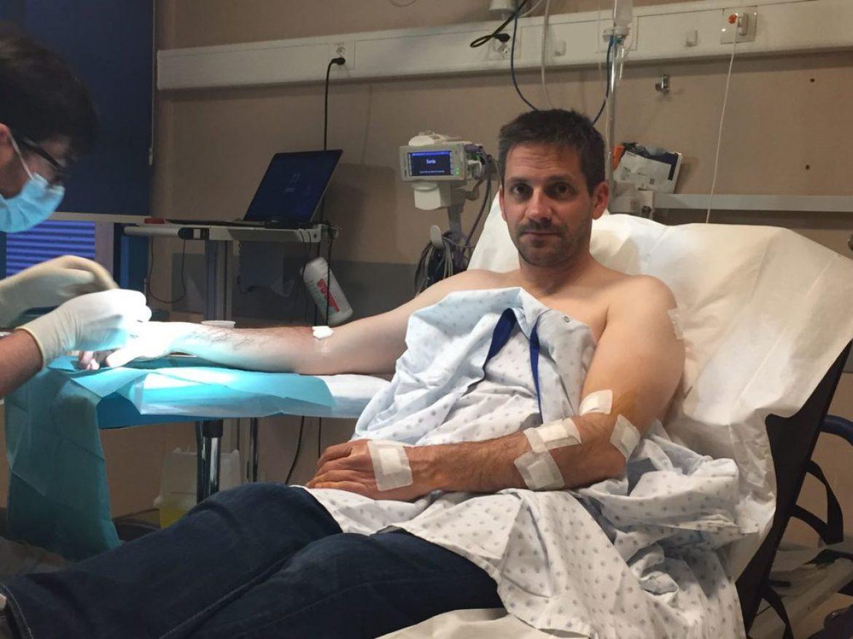 Mathieu attaqué violemment et à 3 reprises par un aigle (Suisse)
