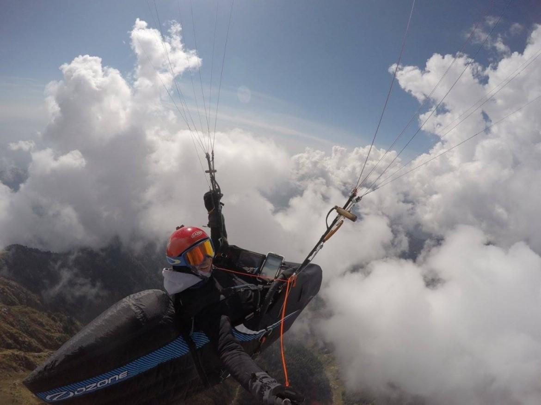 La « Bataille dans les nuages » de Maxime Pinot en Inde