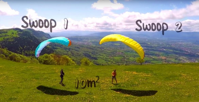 Vivez la nouvelle mini-voile NERVURES Swoop 2 en action