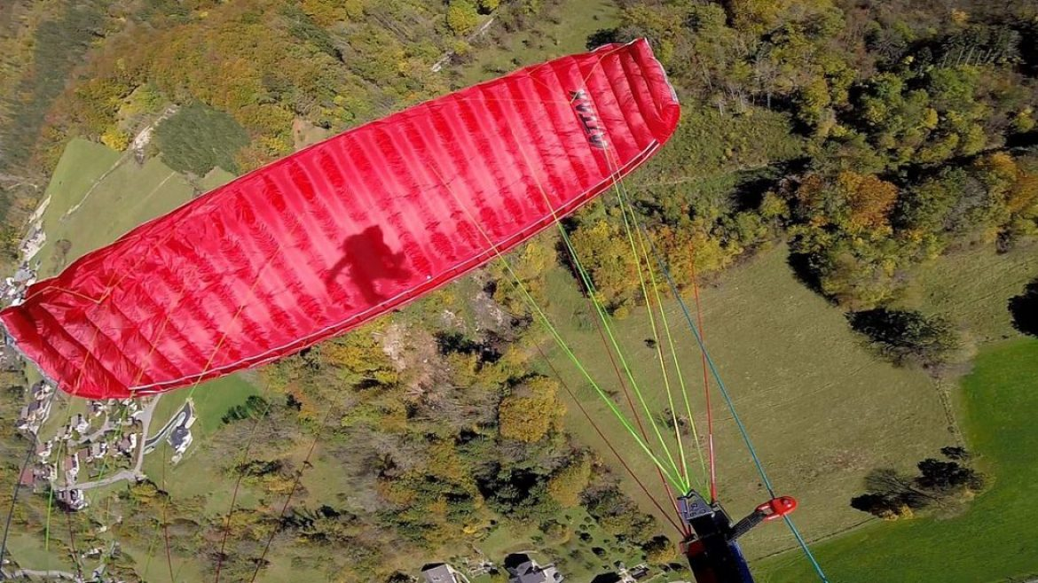 Test de la mini-voile SOL Attak par Above The Pines