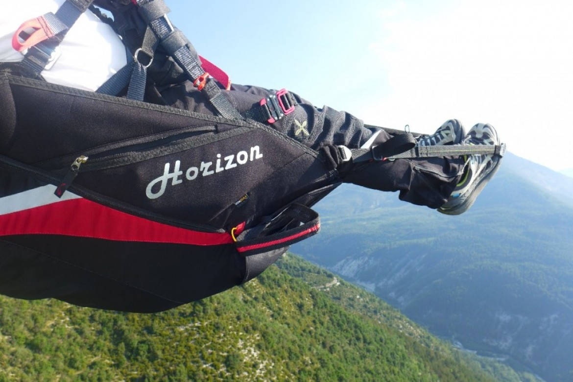 Test de la sellette SOL Horizon par Philippe LAMI