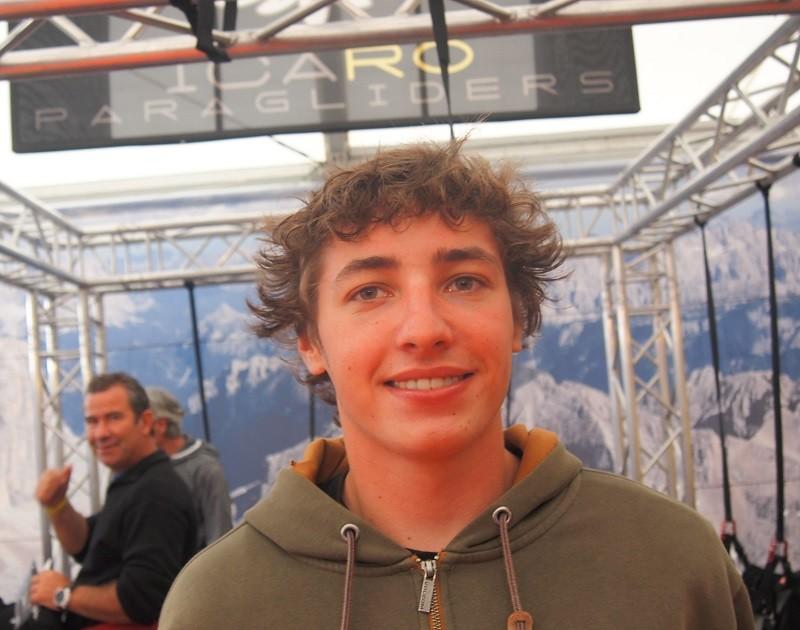 Théo de Blic, vice champion du monde de voltige