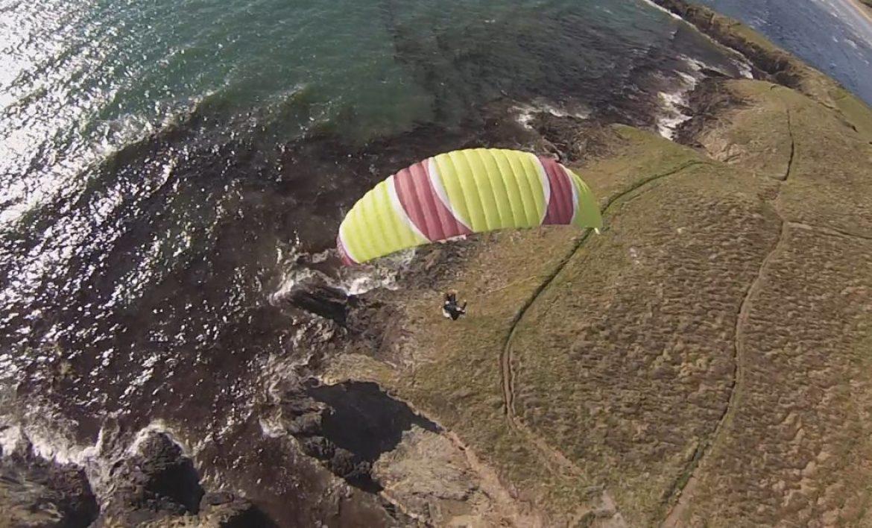 Tests de voiles dans le vent fort : la FLYFAT Tayo 18 m²