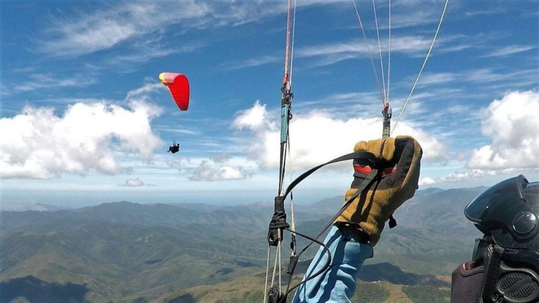 Record parapente Nouvelle Calédonie par Xavier Girin : 175 km