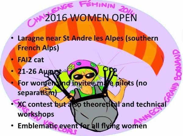 Women Open-Challenge Féminin 2016 à Laragne