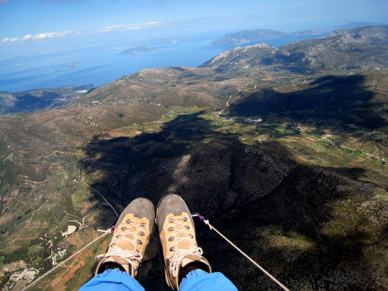 Voler en parapente en Grèce avec Flying Paradise