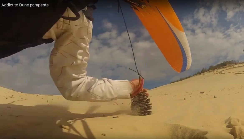 « Addict to Dune parapente », la vidéo 100% pur dune Pilat