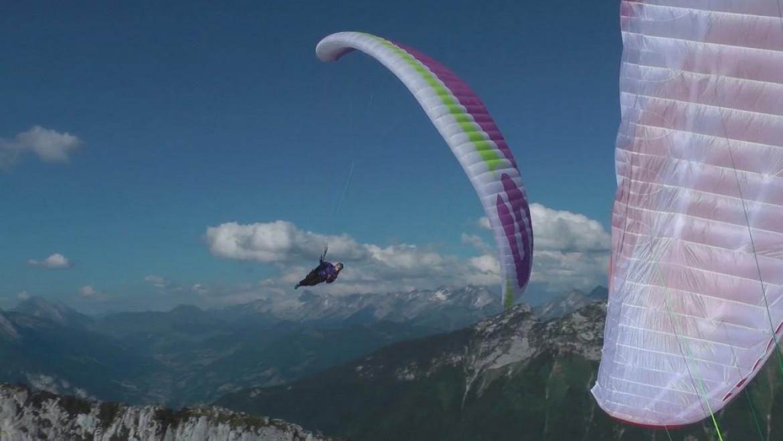 L'aile SUP'AIR Leaf présentée par Benoit Outters