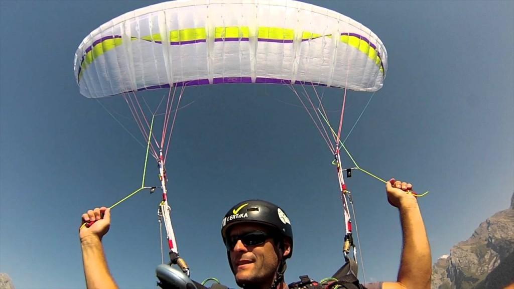 Air Design UFO et NIVIUK Skin testées par Cédric Nieddu