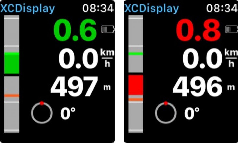 XCDisplay, une application pour afficher les données XCtracer ou Sensbox